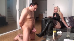 arabian slave get humiliated with JOI